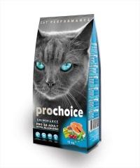 PROCHOICE Pro 34 Somon ve Pirinçli Yetişkin Kedi Maması 15 KG
