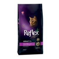 REFLEX PLUS Tavuklu Renkli Taneli Yetişkin Kedi Maması 15 KG