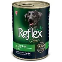 REFLEX PLUS Tavuklu Yetişkin Köpek Konserve 400 GR