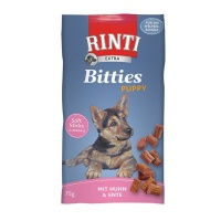 RINTI Extra Bitties Puppy Tavuk ve Ördek Etli Yavru Köpek Ödül 75 GR