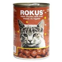 ROKUS Ciğerli Kedi Konserve 410 GR