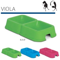VIOLA Köpek Mama ve Su Kabı 0.3+0.3L