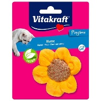 VITAKRAFT Catnip Kokulu Ayçiçeği Peluş Kedi Oyuncak